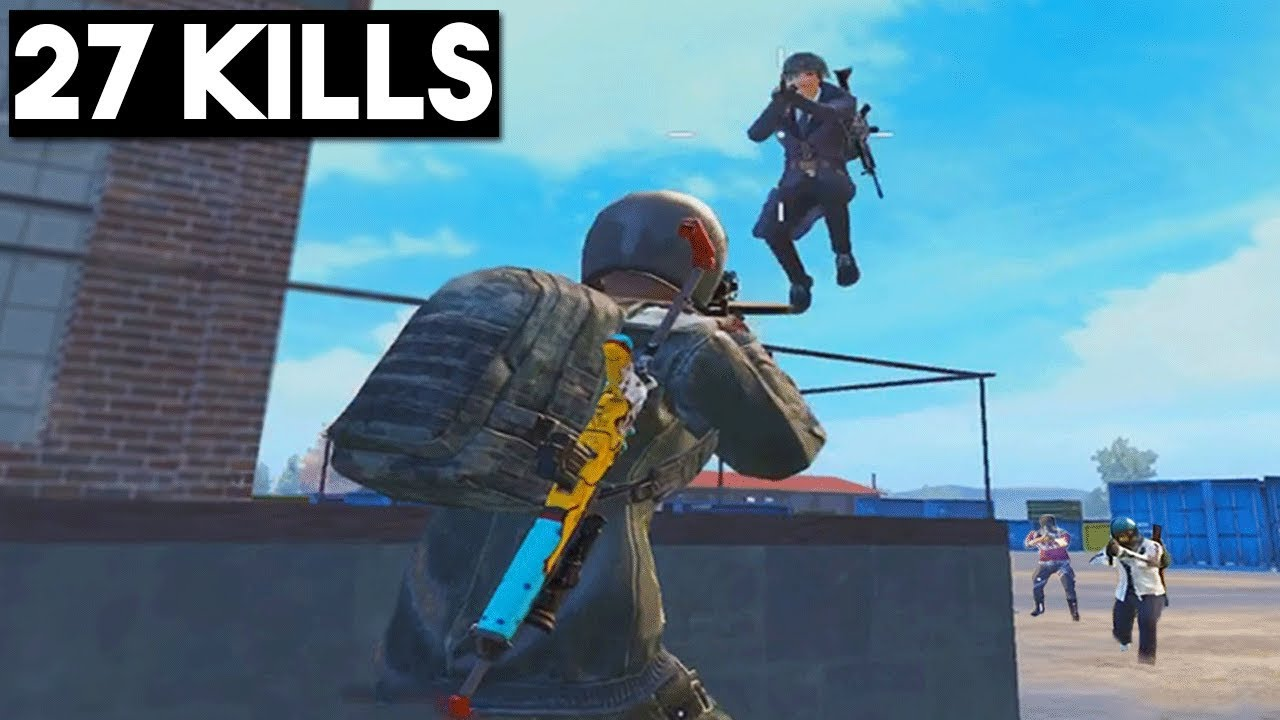 THIS WEAPON HAS NO RECOIL! | 27 KILLS | PUBG Mobile 🐼