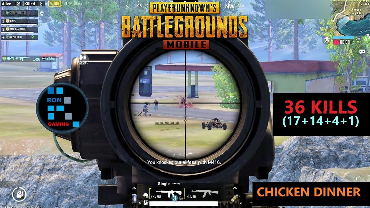 "[Hindi] PUBG MOBILE | ""36 KILLS"" FUN GAME PLAY CHICKEN DINNER OLD FOOTAGE FOUND"
