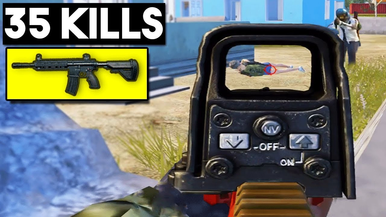 WHY M4 IS THE BEST WEAPON! | 35 KILLS Duo vs SQUAD | PUBG Mobile