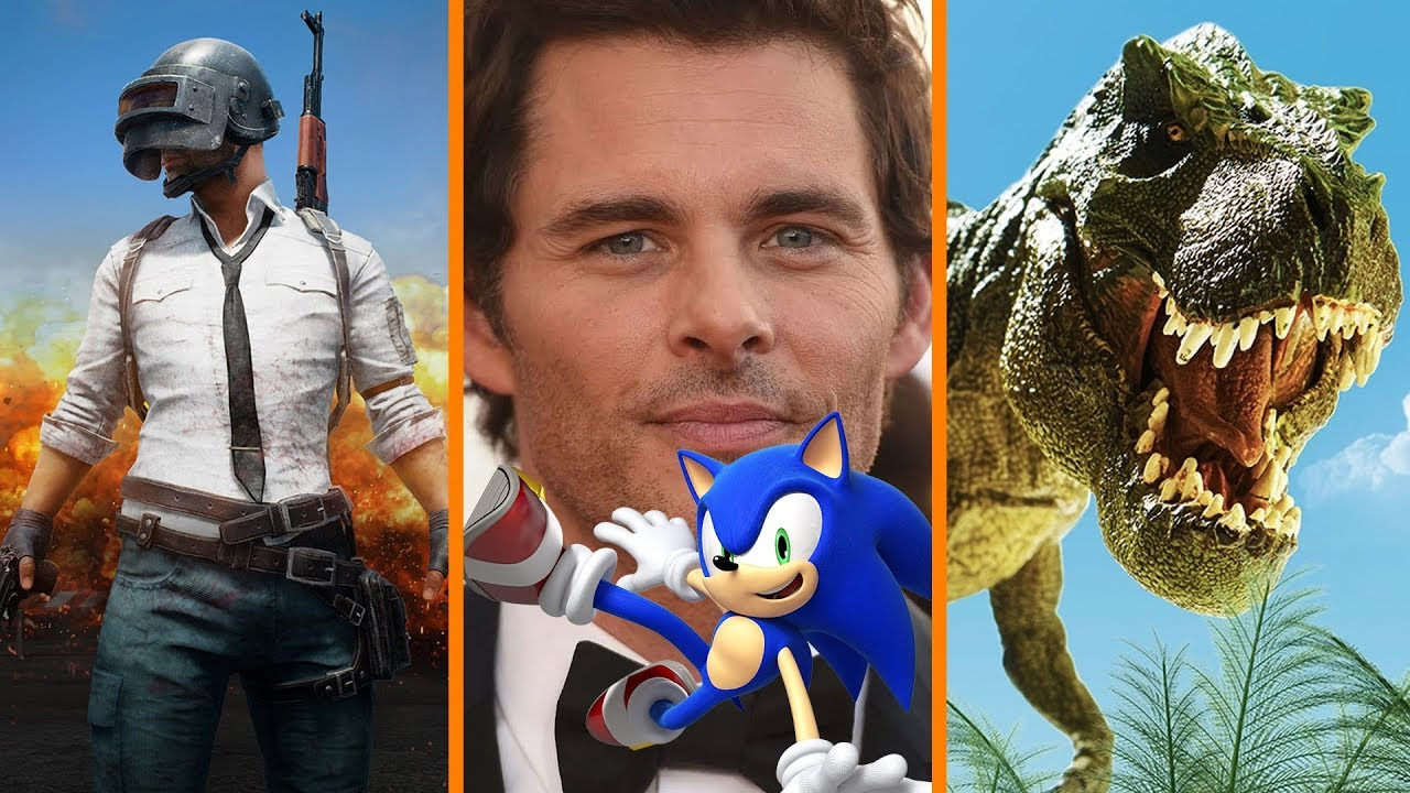 PUBG Players Drops in HALF + James Marsden Joins SONIC + The Mother of All Lizards