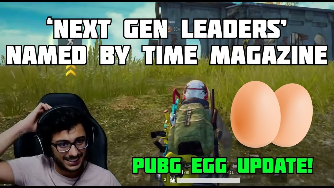 CARRYMINATI NAMED 'NEXT GEN LEADER' BY TIME MAGAZINE   PUBG EGG   CARRYISLIVE PUBG MOBILE HIGHLIGHTS
