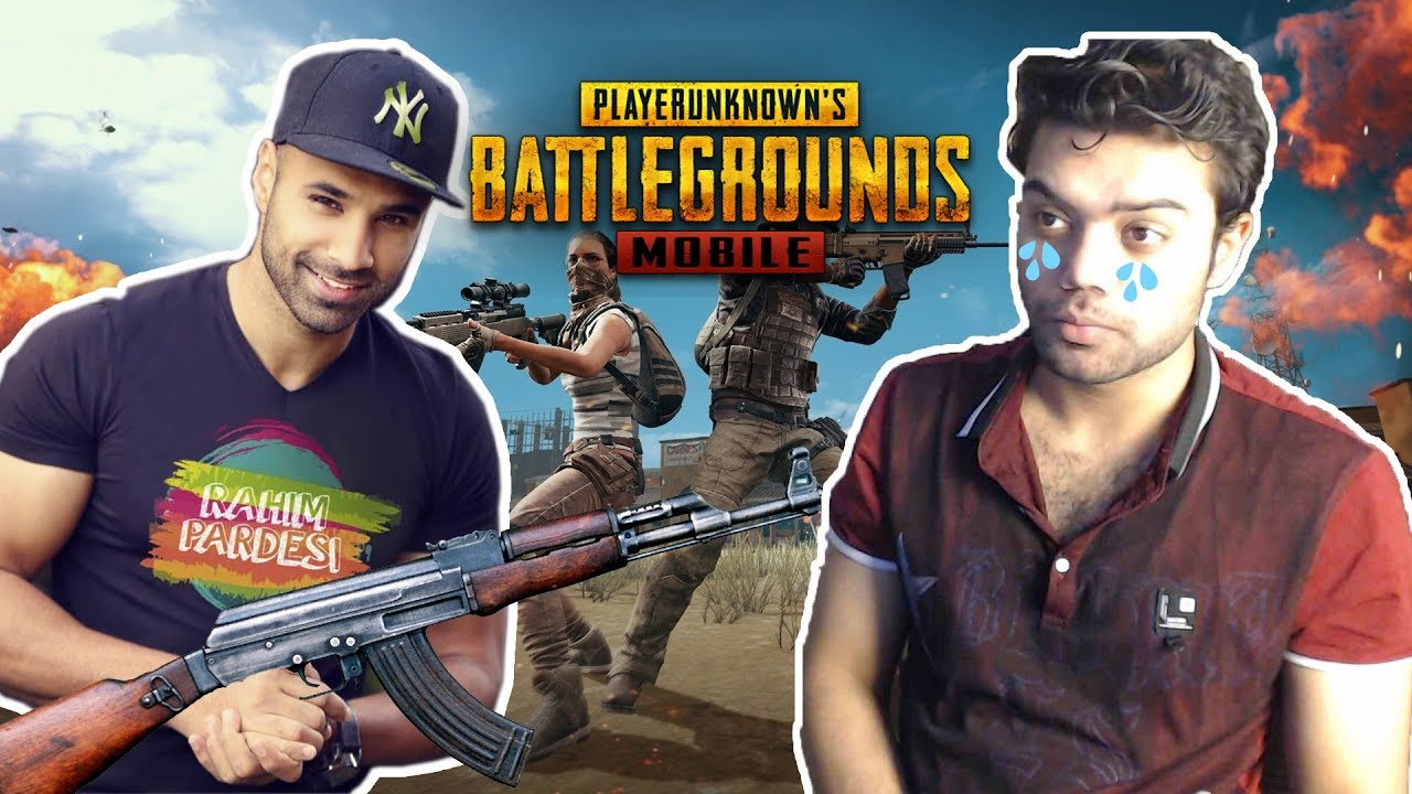 🔴 Teaching Rahim Pardesi PUBG MOBILE !!!