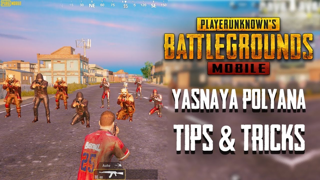 Top 20 Tips & Tricks For Yasnaya Polyana in PUBG Mobile | Feat. GodNixon | Ultimate Guide #8