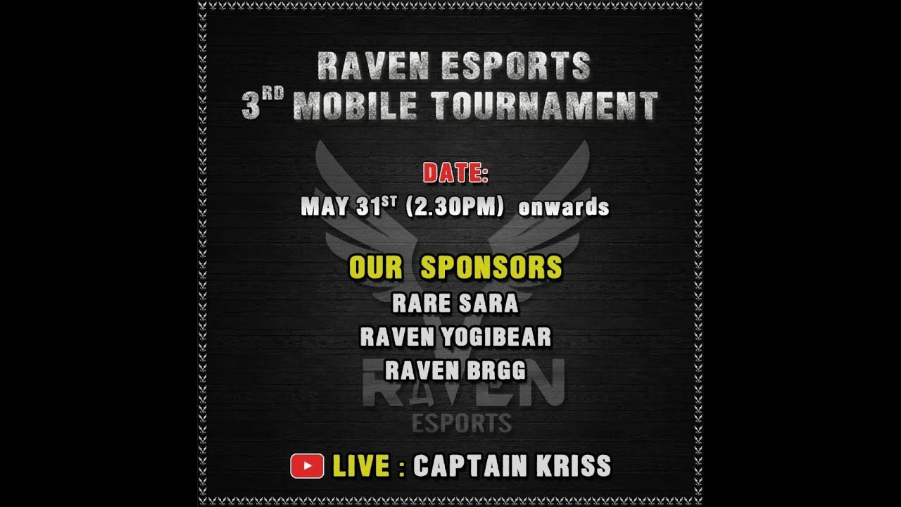 PUBG MOBILE | GRAND FINALS | RAVEN ESPORTS TOURNAMENT | CAPTAINKRISSLIVE