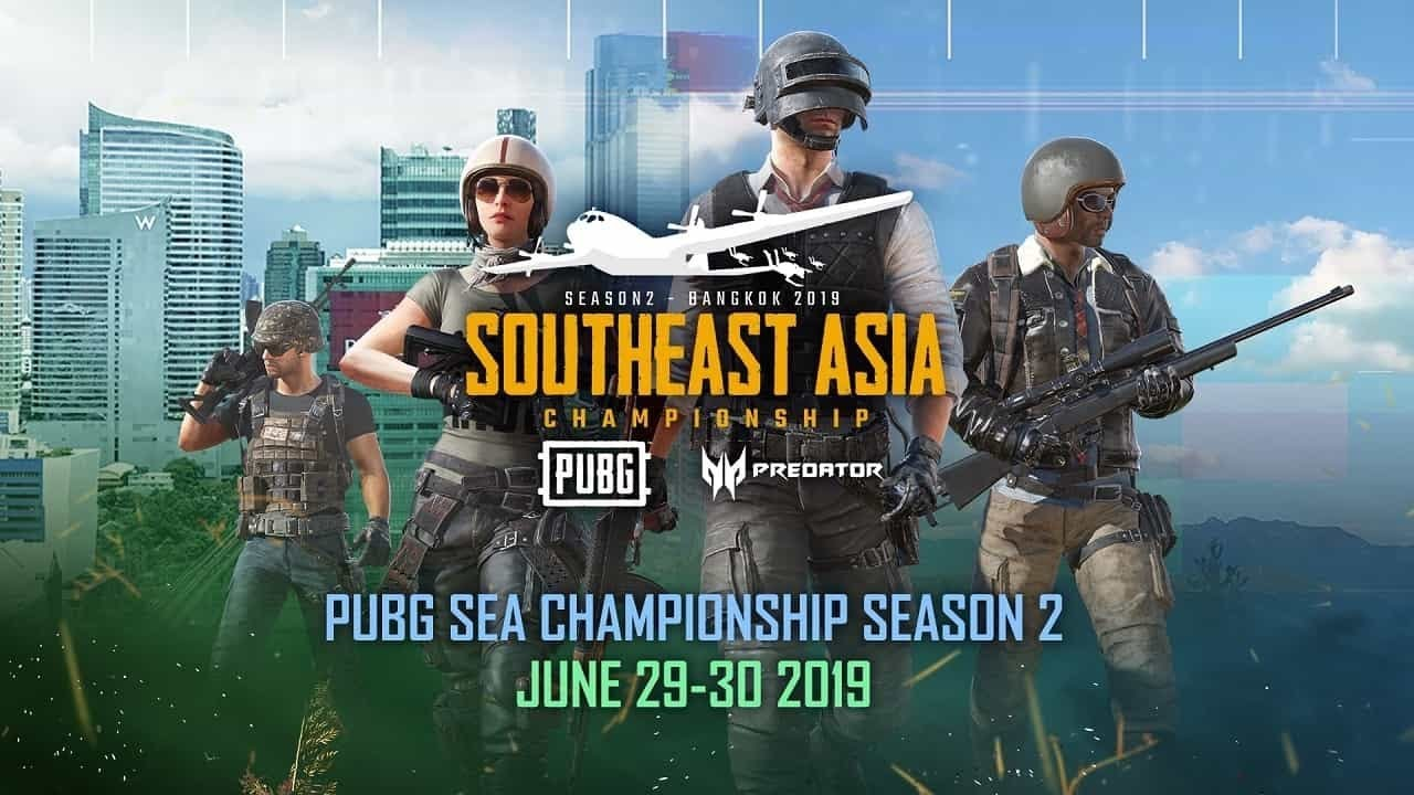 🔴 DAY 1: PUBG SEA Championship Season 2