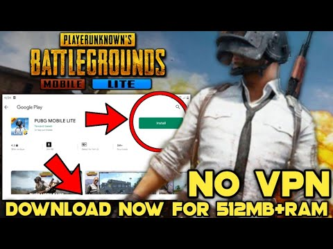 How To DOWNLOAD PUBG MOBILE Lite in Android Without VPN