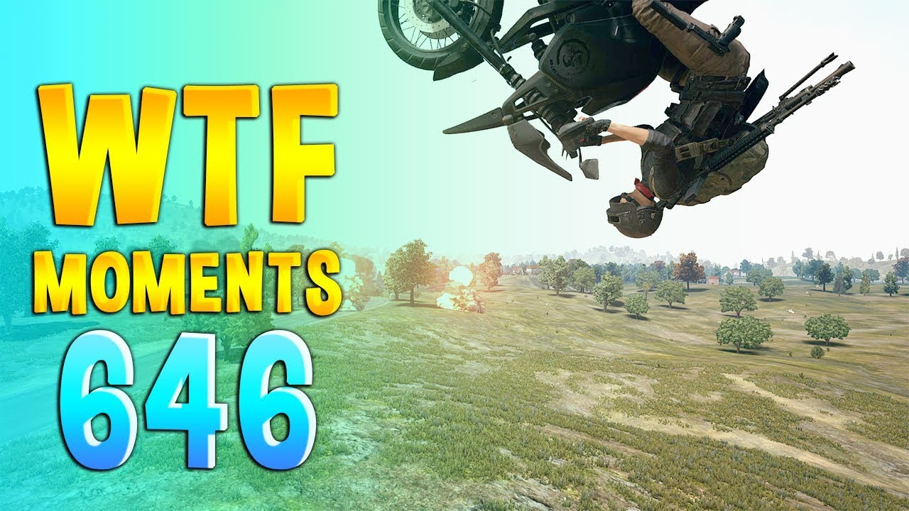 PUBG WTF Funny Daily Moments Ep 646