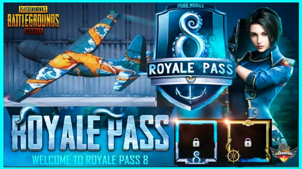 SEASON 8 ROYAL PASS LEAKS - REQUEST FEATURE, PLANE SKIN, NEW