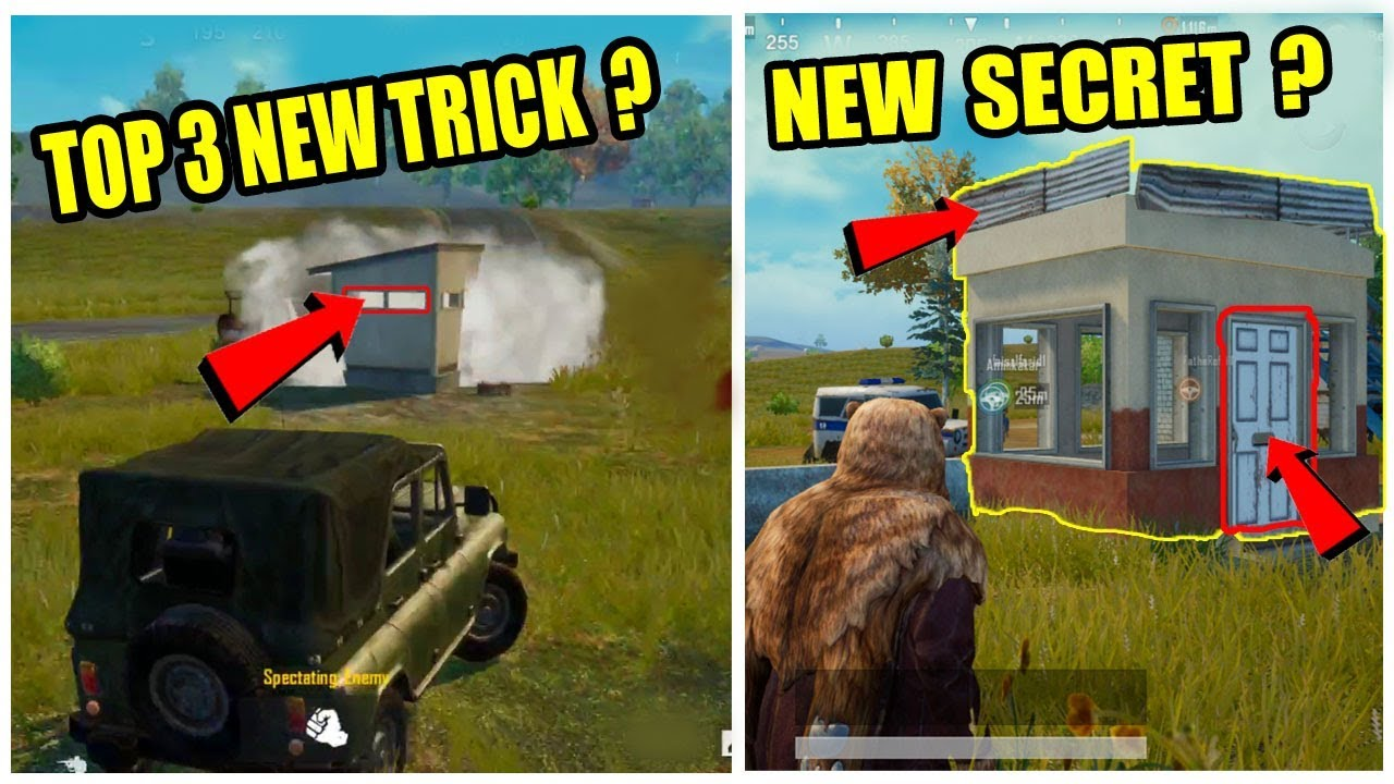 Pubg mobile Top 3 New Tricks ! Only 5% People Know About This Tricks !