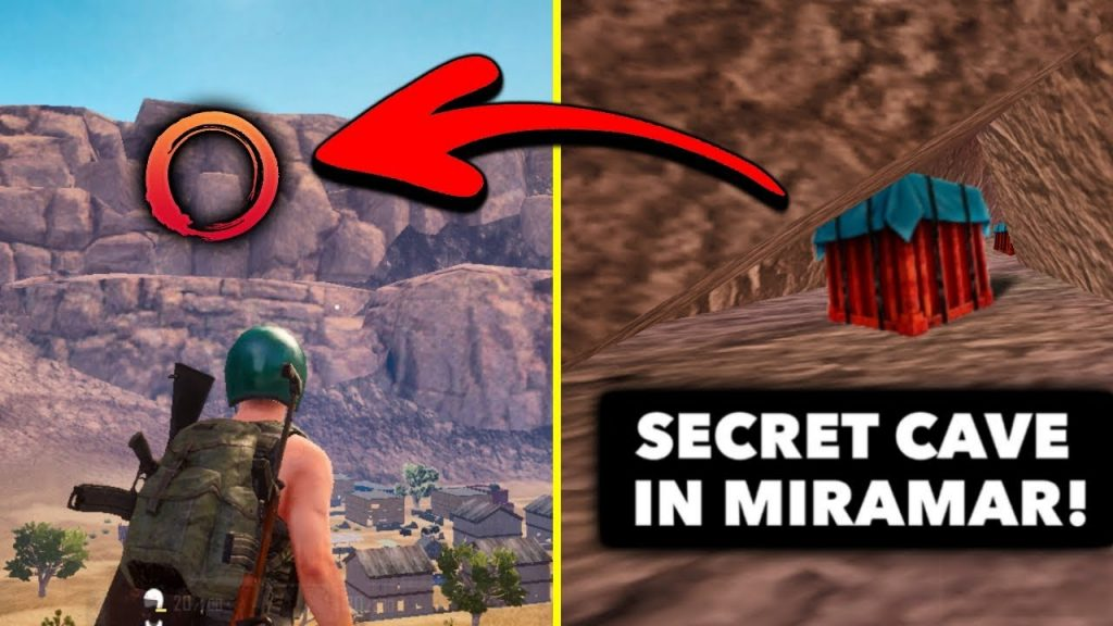 Top 5 New Secret Locations In Pubg Mobile Secret Cave