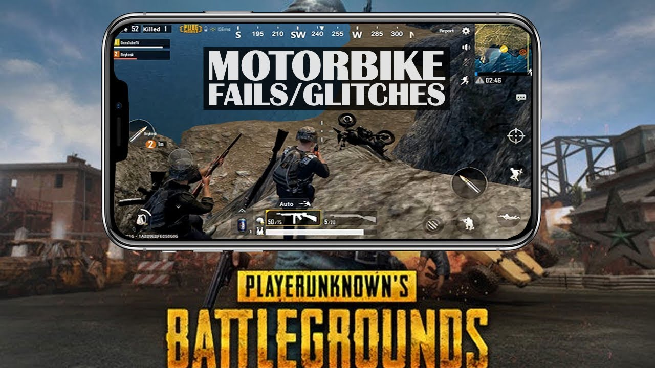 PUBG Mobile Funny Motorbike Fails & Glitches | Epic Gameplay & Win | DansTube.TV