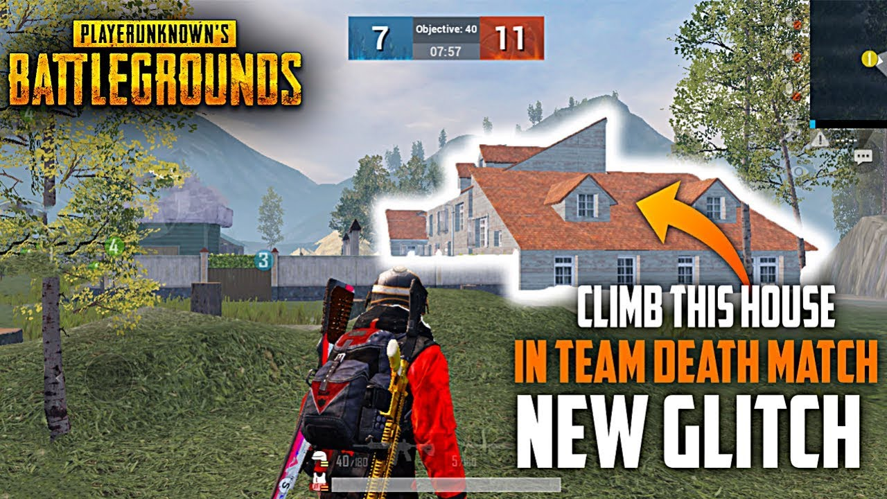 NEW GLITCH IN TEAMDEATH MATCH IN Pubg Mobile Only 0.001% People Know