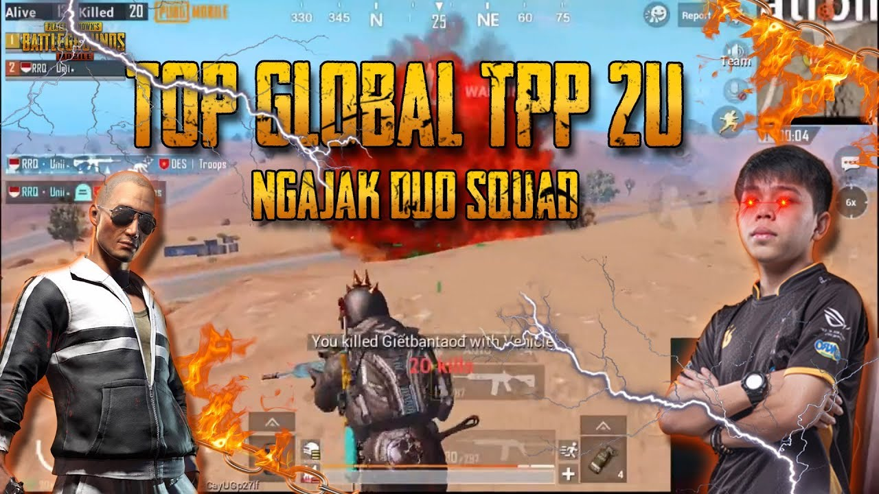 GAMEPLAY BARBAR DUO SQUAD RANK CONQUEROR ??! – PUBG Mobile Indonesia
