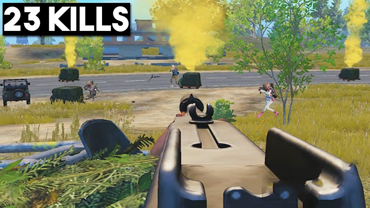 CAN I WIN WITH BAD WEAPONS? | 23 KILLS SOLO vs SQUAD | PUBG Mobile 🐼