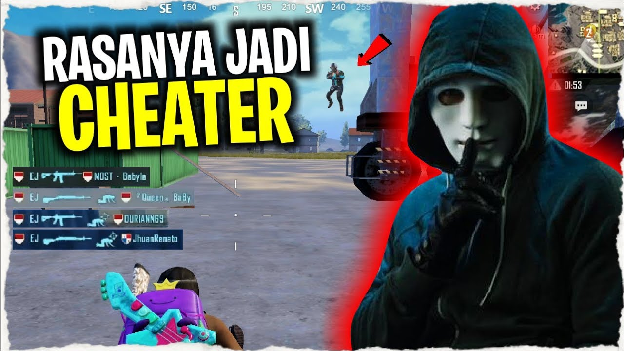 RASAIN JADI CHEATER..!! MAIN BARENG CHEATER NGAKAK | PUBG Mobile Indonesia