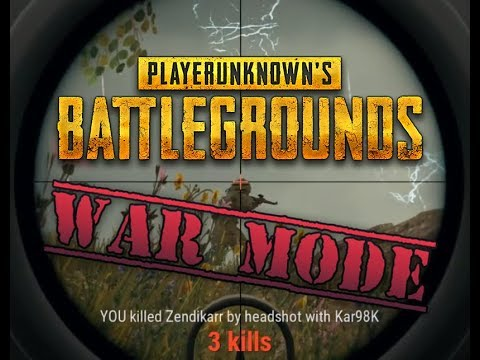 War Mode is Hell – A PUBG Event Tribute
