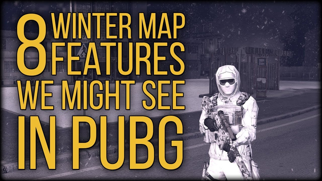 8 Winter Map Features We Might See In PUBG