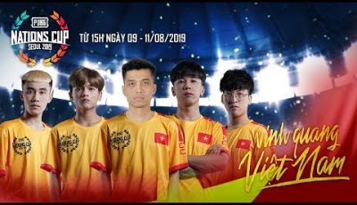 🔴 PUBG Nations Cup Seoul 2019 – Ngày 3