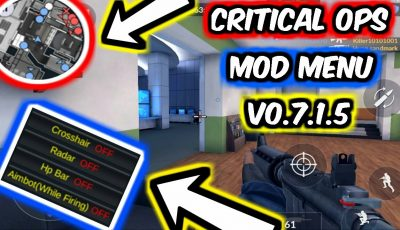 CRITICAL OPS MOD MENU v0.7.1.5 (ESP HEALTH & CROSSHAIR & MAP & MORE!) 2017