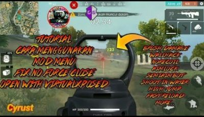 How to Cheat Free Fire Mod Menu No Force close with virtualxposed | Brush Damage, No Recoil