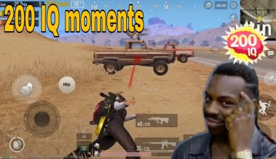 200 IQ and – 200 IQ | pubg Mobile funny and WTF moments # 111