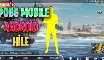 PUBG MOBİLE ANDROİD HİLE (HACK)