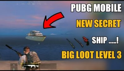 Pubg Mobile New Secret Ship Location !! How To Get Level 3 In Pubg Mobile ! Secret Location Pubg