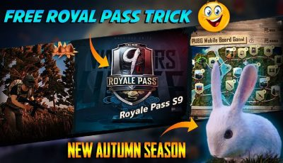 PUBG Mobile New Autumn Season With New Feature and Rewards | Get Free Season 9 Royal Pass in PUBGM
