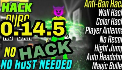 PUBG MOBİL 0.14.5 ANDROID MEGA HACK UPDATED 2019 – NO ROOT & ROOT (13.09.2019)