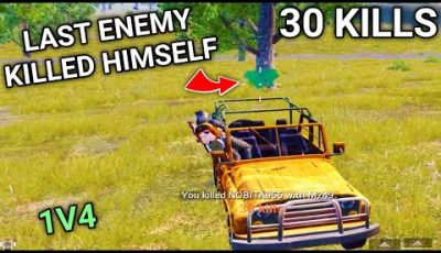 Last Enemy Thinks I Am Hacker And Killed Himself In PUBG Mobile