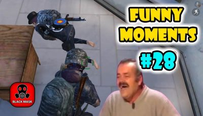 PUBG Mobile Funny Moments EP 28 – Black Mask