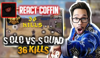 REACT COFFIN FULL GYRO 36 KILLS – PUBG MOBILE INDONESIA