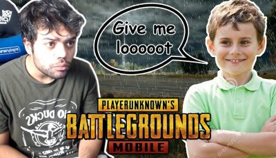 Carrying A Random 9 Year Old In PUBG Mobile Against Hackers  !!!
