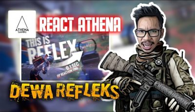 REACT ATHENA GAMING REFLEK DEWA? – PUBG MOBILE INDONESIA