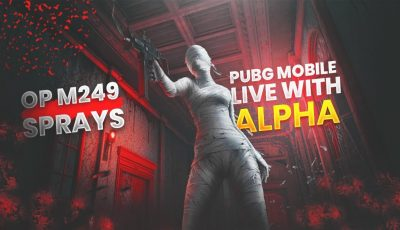 🔴PUBG MOBILE LIVE : OP M249 SPRAYS | LETS HAVE SOME CHICKEN DINNERS|| H¥DRA | Alpha 😎😍
