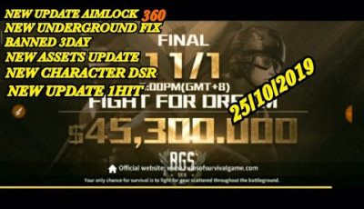 🔥NEW UPDATE AIMLOCK 360 FIX BANNED 3DAY🔥BY ASSETS+CHARACTER DSR+AIMLOCK🔥RULES OF SURVIVAL🔥