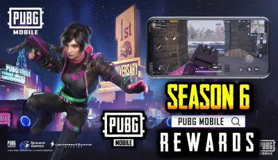 PUBG MOBILE SEASON 6 ROYALE PASS REWARDS LEAKS !