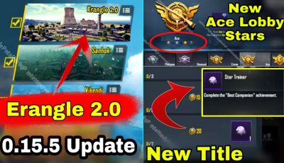 PUBG Mobile 0.15.5 Update With New Map   Erangle 2.0   Season 10 Update is here Pubg Mobile