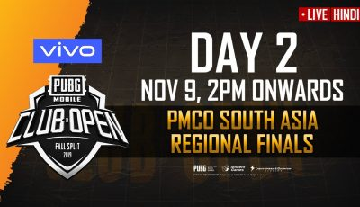 [Hindi] PMCO South Asia Finals Day 2 | Fall Split | PUBG MOBILE CLUB OPEN 2019