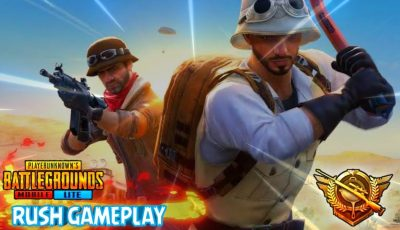 PUBG MOBILE LITE LIVE STREAM || RUSH GAMEPLAY || Powered by BSUS