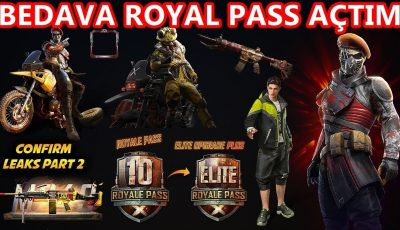 BEDAVA SEZON 10 ROYAL PASS AÇTIM PUBG MOBİLE
