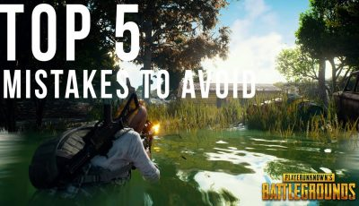 Avoid these 5 mistakes to improve your gameplay! | PUBG