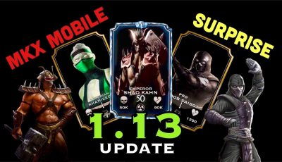 MKX MOBILE_UPDATE 1.13 NEWS AND THE BIGGEST SURPRISE 😱😱
