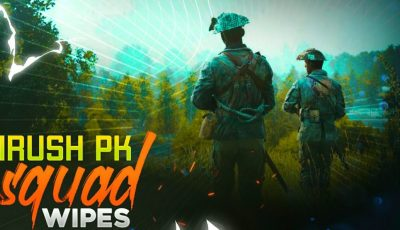 PUBG-M LIVE GAMING | ALL IN ONE SQUAD SNIPER RUSHER & 4X SPRAY  | PAYTM ON SCREEN | #iRushClan
