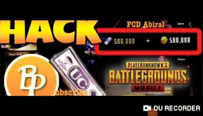 Hack Free UC From GX Tool. (Pubg Mobile)