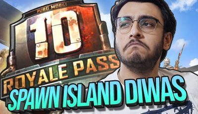 PUBG MOBILE LIVE: SPAWN ISLAND DIWAS | ROYAL PASS 10 NEW UPDATE | RAWKNEE