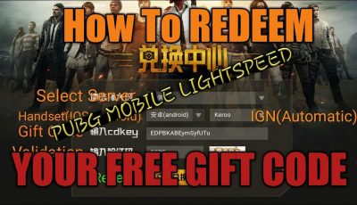 PUBG Mobile – How to Redeem your free Gift code (Android/IOS) ft. PeeNoise Caster