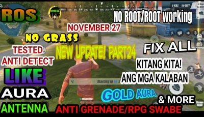 Ros new safe cheat RulesofSurvival Mobile My PART24 screen recording(Philippines)