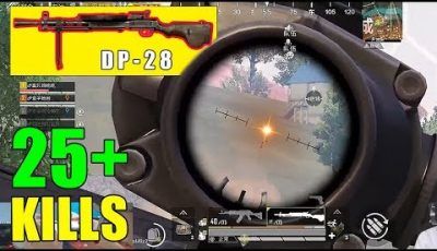 PubgMobile| PLAYING WITH TEAMMATES! | 27 KILLS! | DP-28 VICTORY!💪 |【BQR】