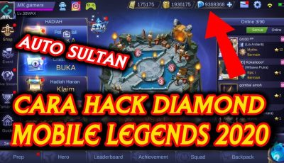 Cara Hack Diamonds Mobile Legends 2020 ( iOS/Android )